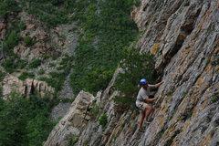 Rock Climbing Photo: Mike Kurilich on Whipper Snapper