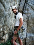 Rock Climbing Photo: Haliku at Happy Hour, Boulder Canyon 16 Aug 09 by ...