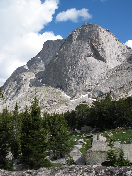 North Face of Mitchell Peak
