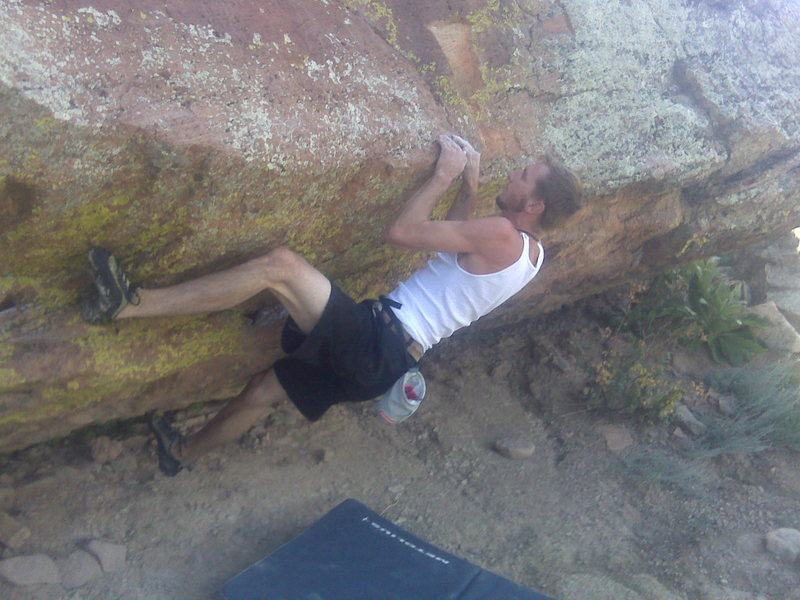 Rock Climbing Photo: Is this Worm Up?