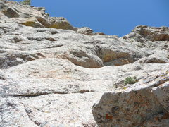 Rock Climbing Photo: Photo taken from the belay at the top of our Pitch...