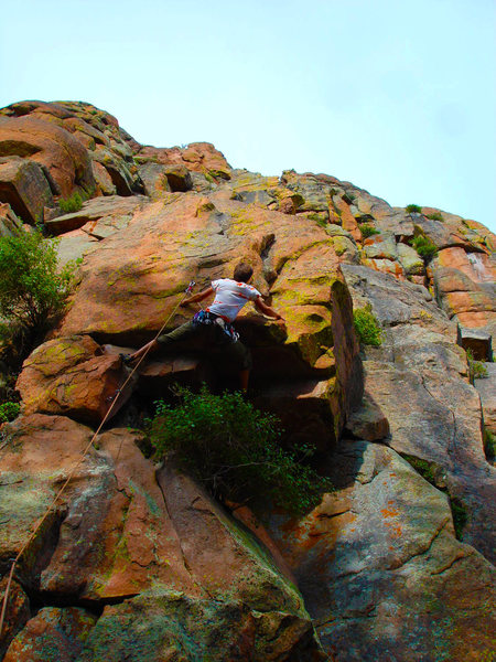 Rock Climbing Photo: South Platte