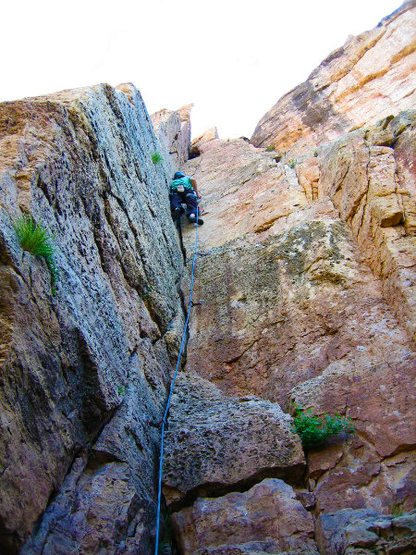Rock Climbing Photo: Shelf Rd.