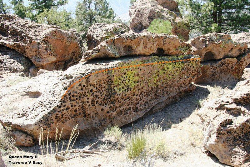 Queen Mary II Boulder Topo