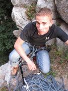 Rock Climbing Photo: Chillin up Ferguson Canyon