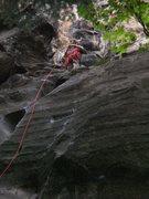 Rock Climbing Photo: Broughton