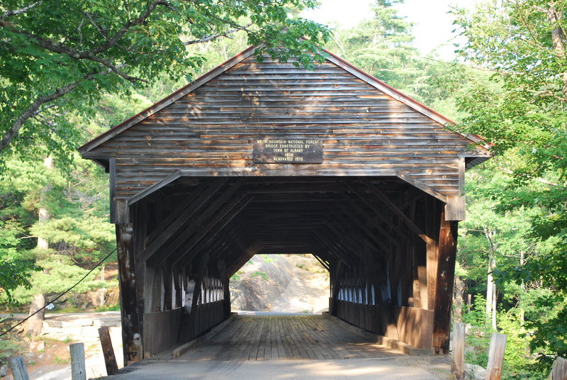 Rock Climbing Photo: The Albany Covered Bridge