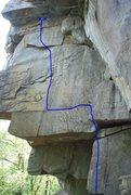 Rock Climbing Photo: Vanishing Point 12d.