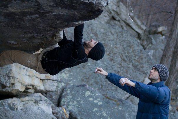 Rock Climbing Photo: Andrew