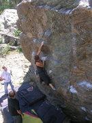 Rock Climbing Photo: A fun warm-up.