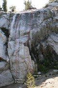 Rock Climbing Photo: Far Right Slab Topo