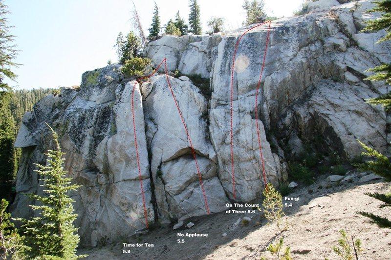 Rock Climbing Photo: Rightside Topo