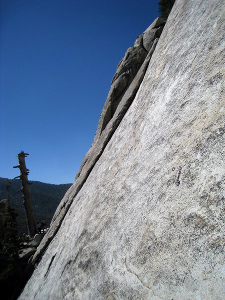 Rock Climbing Photo: Starting anchor of Ten Karat Gold.  A beautiful an...