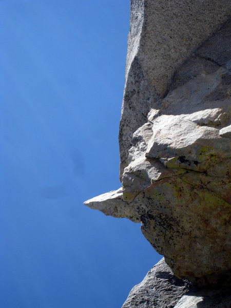 Rock Climbing Photo: The Traitor Horn as seen from Mechanic's Route