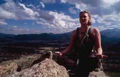 Rock Climbing Photo: Dondi on top of the Pinnacle. Photo credit Jeremy ...