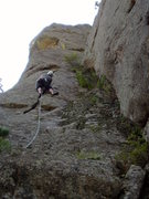 "Rock Climbing Photo: Approaching the ""hollow"" part. There are..."