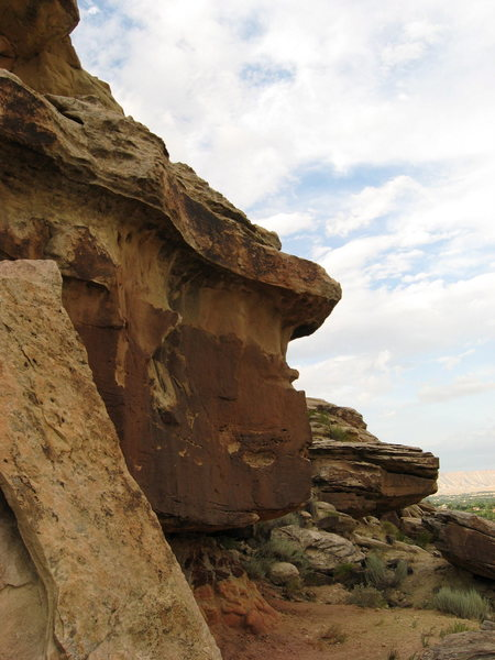 Rock Climbing Photo: Look at the jug in the skyline, that a big throw t...
