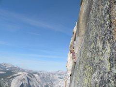 Rock Climbing Photo: Thank God Ledge! Photo by Scott Bennett