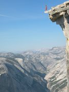 Rock Climbing Photo: On top after climbing the Regular NW Face Photo by...
