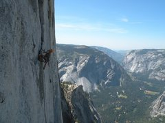 Rock Climbing Photo: One of the pitches way up there photo by Scott Ben...