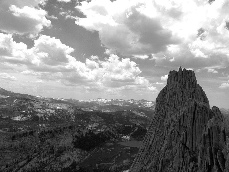 Rock Climbing Photo: Climbers on Matthess Crest