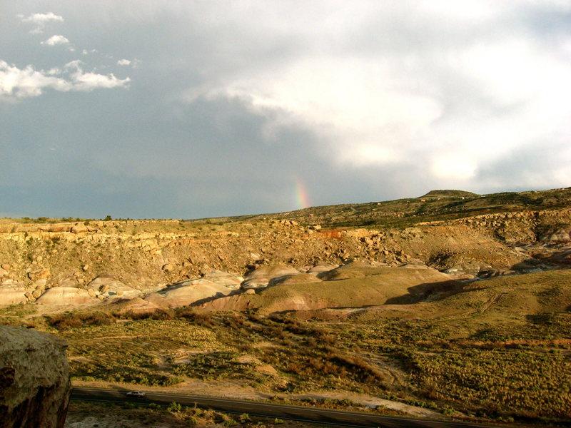 Rock Climbing Photo: View from the Ridge at Dynamite Shacks.