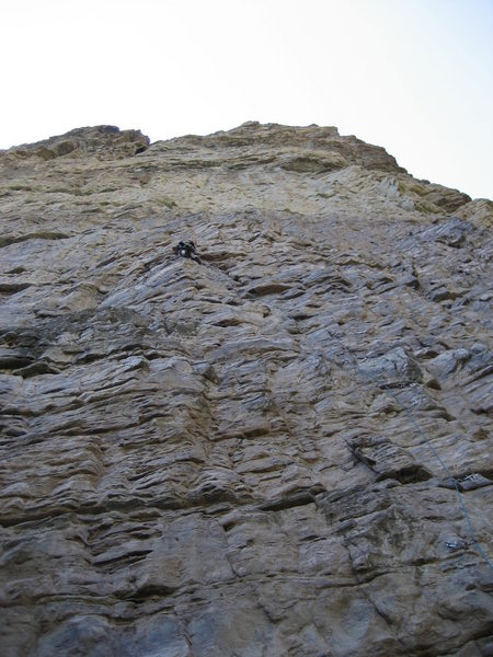 Pitch 1 great steep 5.10!