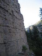 Rock Climbing Photo: Behind The Curtain.