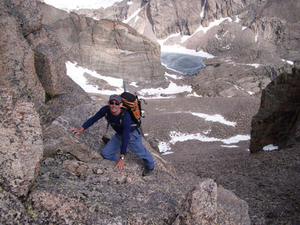 Rock Climbing Photo: Class 3 in the Iron Gates