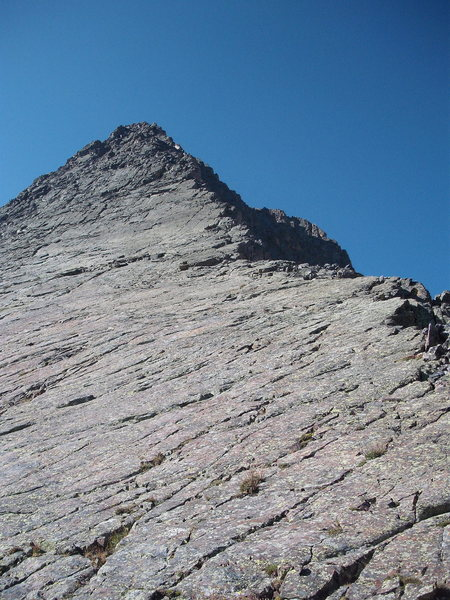 Rock Climbing Photo: Wham Ridge.