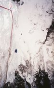 Rock Climbing Photo: Starting third pitch. Vintage photo 1987, photogra...