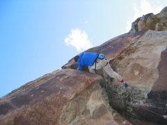 Rock Climbing Photo: Oi.