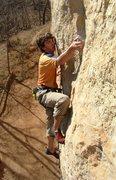 Rock Climbing Photo: A very young balls C. Treiber (2004).