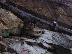 Rock Climbing Photo: Finishing up the Emerald