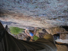Rock Climbing Photo: Cruising up Breezy.