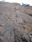 Rock Climbing Photo: Poor quality photo (sorry) but shows the belay sta...