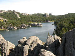 Rock Climbing Photo: Sylvan Lake from the Outlets