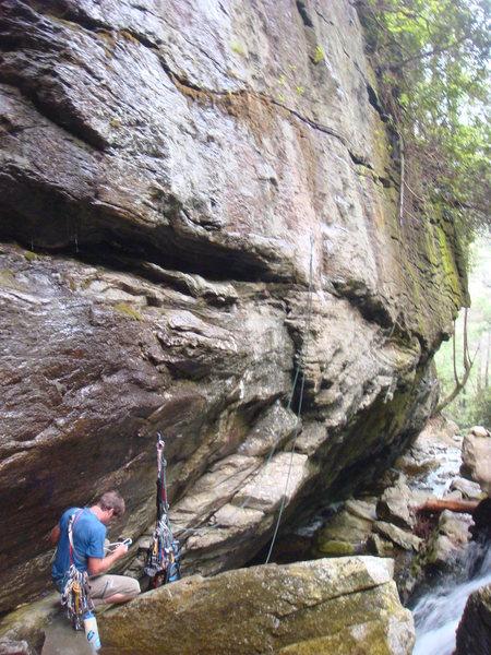 Rock Climbing Photo: the belay