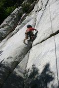 Rock Climbing Photo: Lisa Falls, Little Cottonwood Canyon, Utah