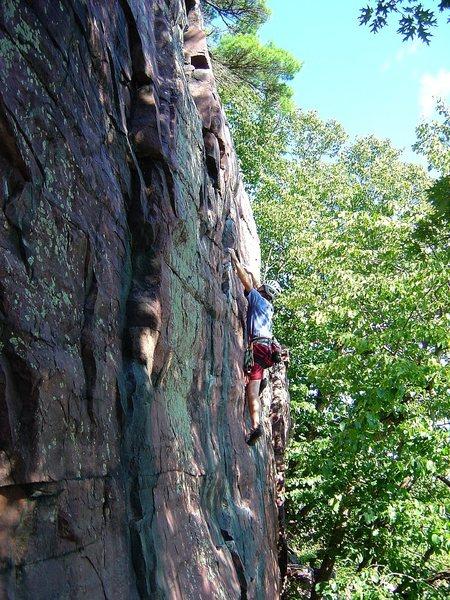 Rock Climbing Photo: Watermarks.  Classic!  Aug 09.