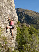 Rock Climbing Photo: The Boneyard. The base of the climb is a small roc...