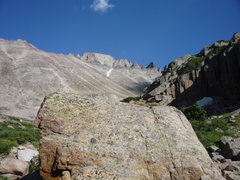 Rock Climbing Photo: Longs Peak.