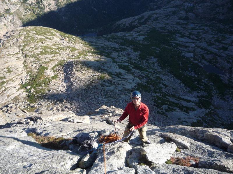 Rick W. on Spearhead N. Ridge.