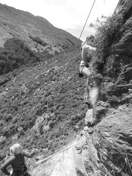 Rock Climbing Photo: Wai Creek, Queenstown's top rated sport climbing a...