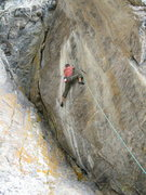 Rock Climbing Photo: B-Real on Cloak and Dagger.