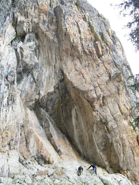 Rock Climbing Photo: Wizard's Gate - Cloak and Dagger.