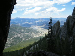 Rock Climbing Photo: View from Wizard's Gate.