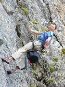 Rock Climbing Photo: Jonathan Siegrist making it all happen.