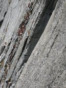 Rock Climbing Photo: Climbers on the 4th pitch.