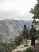Rock Climbing Photo: Looking out over the valley after climbing Snake D...
